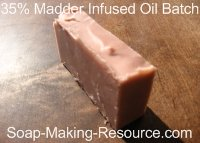 35% Infused Oil Madder Root Soap