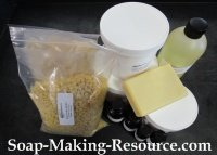 Mango Butter Lotion Bar Recipe Kit
