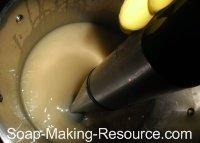 Mixing Insect Repellent Soap Recipe