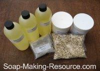 Shaving Soap Recipe Kit