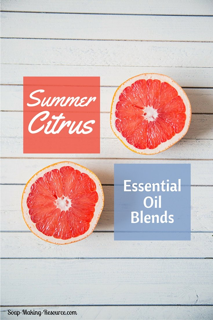 Summer Citrus Essential Oil Blends