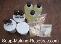 Tea Tree Oil Soap Recipe Kit