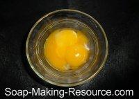 3 Egg Yolks