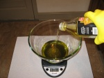 measure out olive-oil