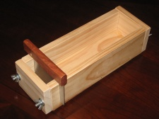 four pound wooden soap mold